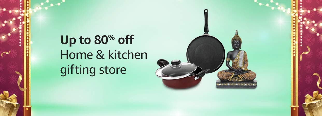 Amazon - Up to 80% off on Home and Kitchen