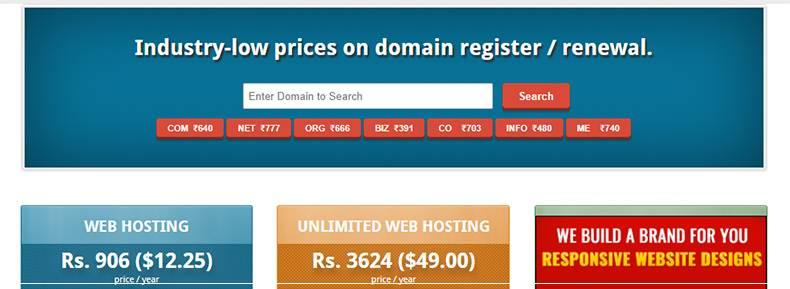DomainIndia.com Banner